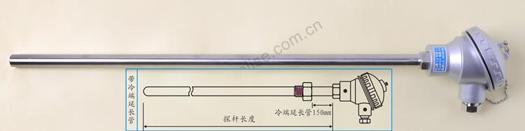 在大接线盒的陶瓷接线板上而组成的大接线盒式热电阻
